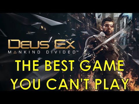 Deus Ex: Mankind Divided – The best game you can't play (PC)